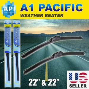 All Season Bracketless 22 Inch J hook Windshield Wiper Blades Oem Quality Chevy