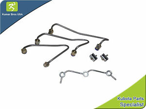 New Kubota Bx2200d Bx22d Bx23d Injector Fuel Pipe Set