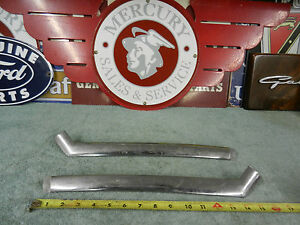 1955 1956 Mercury Montclair Or Monterey 2 Dr Hdtp Rear Window Side Stainless