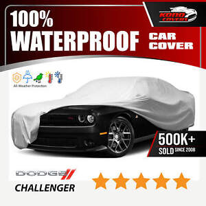 Dodge Challenger 2008 2016 Car Cover 100 Waterproof 100 Breathable