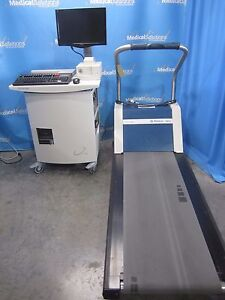 Quinton Q Stress Mortara Burdick Tm55 Treadmill Emr Compatible Ecg Ekg Qstress