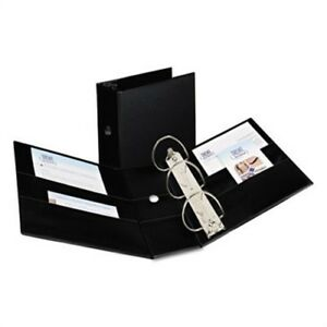 Durable Binder With Two Booster Ezd Rings 5 Capacity Black X 3