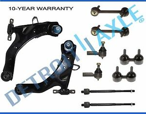 Brand New 10 Pc Front And Rear Suspension Kit For Hyundai Elantra 2001 2006