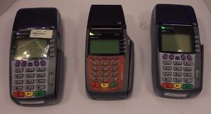 Verifone 3730 3740 Credit Card Terminal lot Of 3 k
