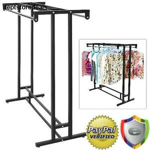 Clothing Rack Garment Storage Hanger Bar Retail Boutique Display Store Hangrail