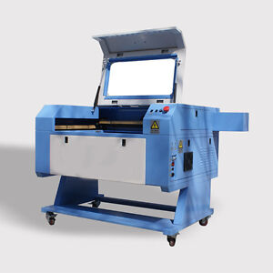 60w Co2 Laser Engraver Cutting 700mm 500 Mm With Rotary Ce Fda Usb Port