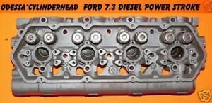 Ford Navistar 7 3 Diesel Power Stroke Cylinder Head 113 Reman