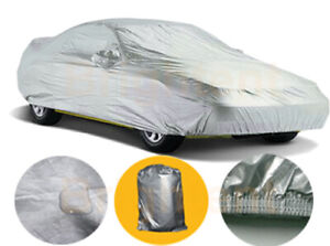 Xxl Large Car Cover Waterproof Sun Uv Dirt Resistant Universal Storage Gcs3p