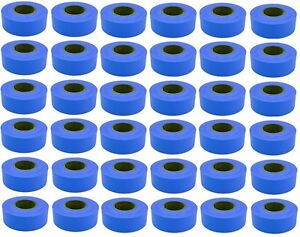 36 Rolls Hanson 17023 300 Ft Blue Vinyl Flagging Tape Marking Ribbon