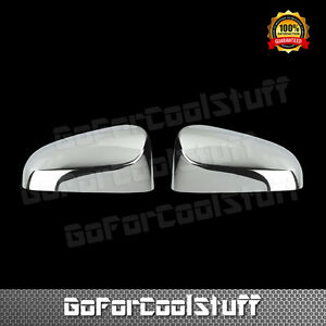 For Toyota Venza 2013 2015 Chrome Top Mirror Covers W Out Turn Light Cutout