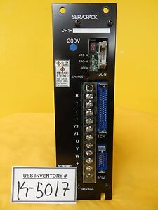 Yaskawa Electric Dr1 08ac Servo Drive Servopack Used Working