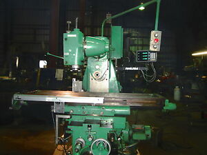 Cincinnati 12 X 56 1 2 Univerisal Milling Machine