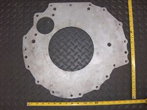 Dodge Mopar Chrysler Marine Alum Bellhousing Adapter Plate Unknown Application