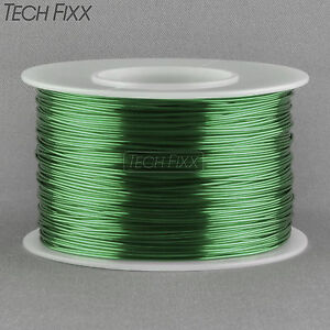 Magnet Wire 22 Gauge Awg Enameled Copper 250 Feet Coil Winding Solderable Green