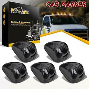 5 Smoke 15442 Cab Marker Light W Amber Led Assembly For Ford 150 550 99 16
