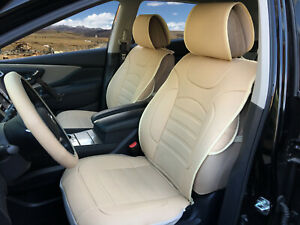 Car Seat Covers Cushions Leather Like 2 Front For Mercedes Benz 803 Tan