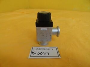 Varian L6280 302 Manual Bellows Valve Nw25 h o L6280302 Used Working