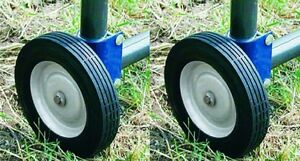 2 Ea Speeco Products S16100600 Farmex Replacement Rolling Fence Gate Wheel