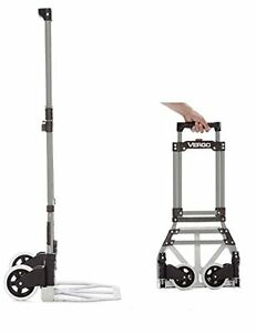 New Vergo S300s Industrial Steel Folding Hand Truck Dolly Cart 150 Lb Capacity