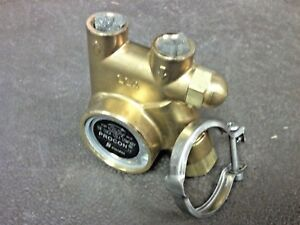 Procon Pump Brass Clamp On 15 To 140 Gpm 3 8 Npt 141a125f11aa