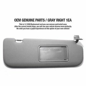 Sunvisor In Stock Replacement Auto Auto Parts Ready To
