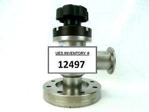Nor cal Products 911223 1 Manual Angle Isolation Valve Used Working