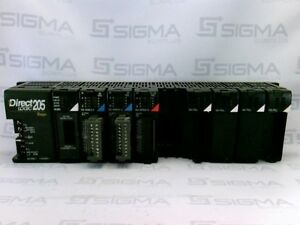 Direct Logic 205 D2 09b 1 Rack Power Supply With Modules