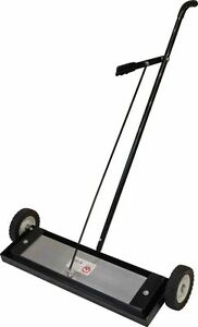 Industrial Magnetics Mag mate Self cleaning Magnetic Sweeper 24 Wide X 7 Dee