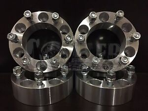 4x 1 5 Wheel Spacers 6x135 14x2 0 Studs Fits Ford F 150 Navigator Expedition
