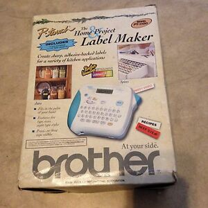 Brother P touch Label Maker Pt 1100 New In Original Box W Tape
