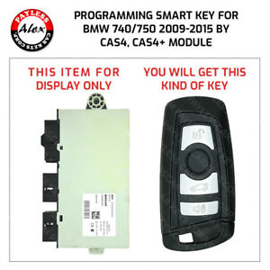Programming Smart Fob For Bmw 740 750 2009 2015 F01 Includes Cutting Service Key