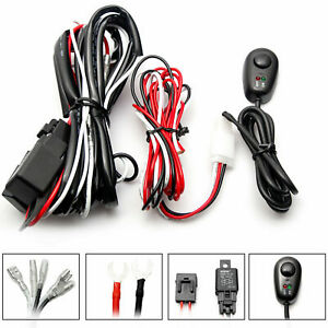 Wiring Harness Kit 40a 12v On Off Switch Relay Harness For Led Work Light Bar