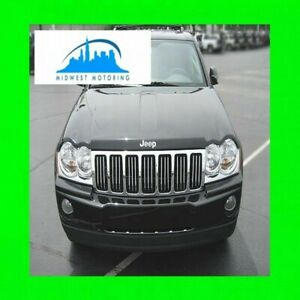 05 10 Jeep Grand Cherokee Chrome Trim For Grill Grille 06 07 08 09 5yr Wrnty