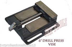 6 Drill Press Vise Pipe Clamping Holding 5 Inch Throat Open Workbench Drill New
