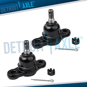 Both 2 New Front Lower Ball Joints Fits 2005 2009 Hyundai Tucson Kia Sportage