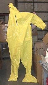 Frham Coverall Elastic Wrist Disposable Suitw alllap Sea 3xl Fs10126 3x Ppe 57