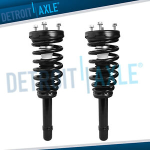 Both 2 Front Strut W Spring Mount Quick Assembly For Hyundai Azera Sonata
