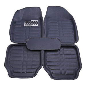 Car Floor Mats Front Rear Liner Waterproof All Weather 5pc Universal Auto Mat