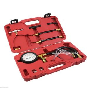 New Fuel Injection Pressure Tester Kit Recovery For Schrader Test Fuel Port