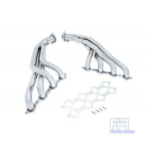 Manzo 8 2 Stainless Exhaust Header For Pontiac G8 08 09 6 0l L76 V8