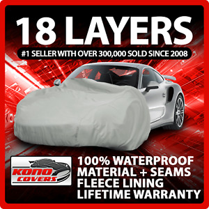18 Layer Car Cover Outdoor Waterproof Scratchproof Breathable