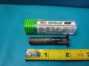 Used Helical Hssp 12237 4 Flute Keyway Cutter