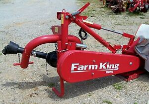 New Farm King 9 Ft Disc Mower Cat 2 can Ship 1 85 Per Loaded Mile
