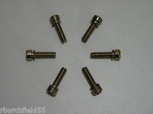 Holley Carburetor Throttle Body Base Plate Screws Ccs Aed Quick Fuel 6 Pack