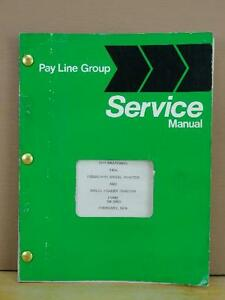 Oem International 240a Wheel Tractor And Loader Service Repair Manual Sm 240a