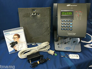Schlage Ingersoll Rand Handpunch 2000 W Amg Employee Management Software