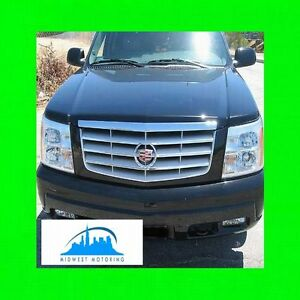 2002 2003 2004 2005 2006 Cadillac Escalade Chrome Trim For Grill Grille Wrnty