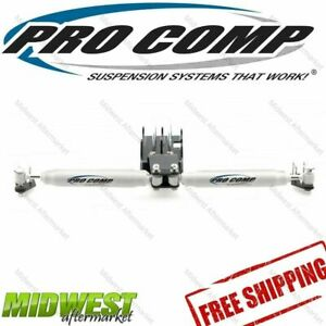 222586 Pro Comp Dual Steering Stabilizer Kit Fits 2007 2016 Jeep Wrangler Jk