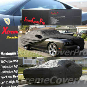 Custom Fit Car Cover For 2015 2016 Dodge Challenger Breathable Black