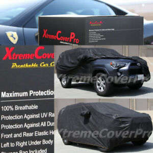 2016 2017 2018 2019 Toyota 4runner Breathable Car Cover W mirror Pocket Black